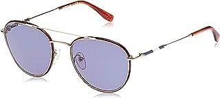 نظارة نوفاك ديوكوفيتش كابسول لاكوست للرجال L102snd باطار معدني بيضوي من مجموعة النظارات الشمسية