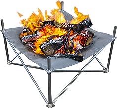Campfire Defender Protect Preserve Pop-Up Fire Pit - Portable 24