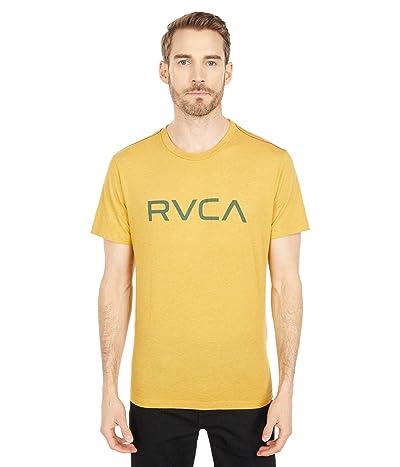 RVCA Big RVCA T-Shirt Short Sleeve (Golden Rod) Men