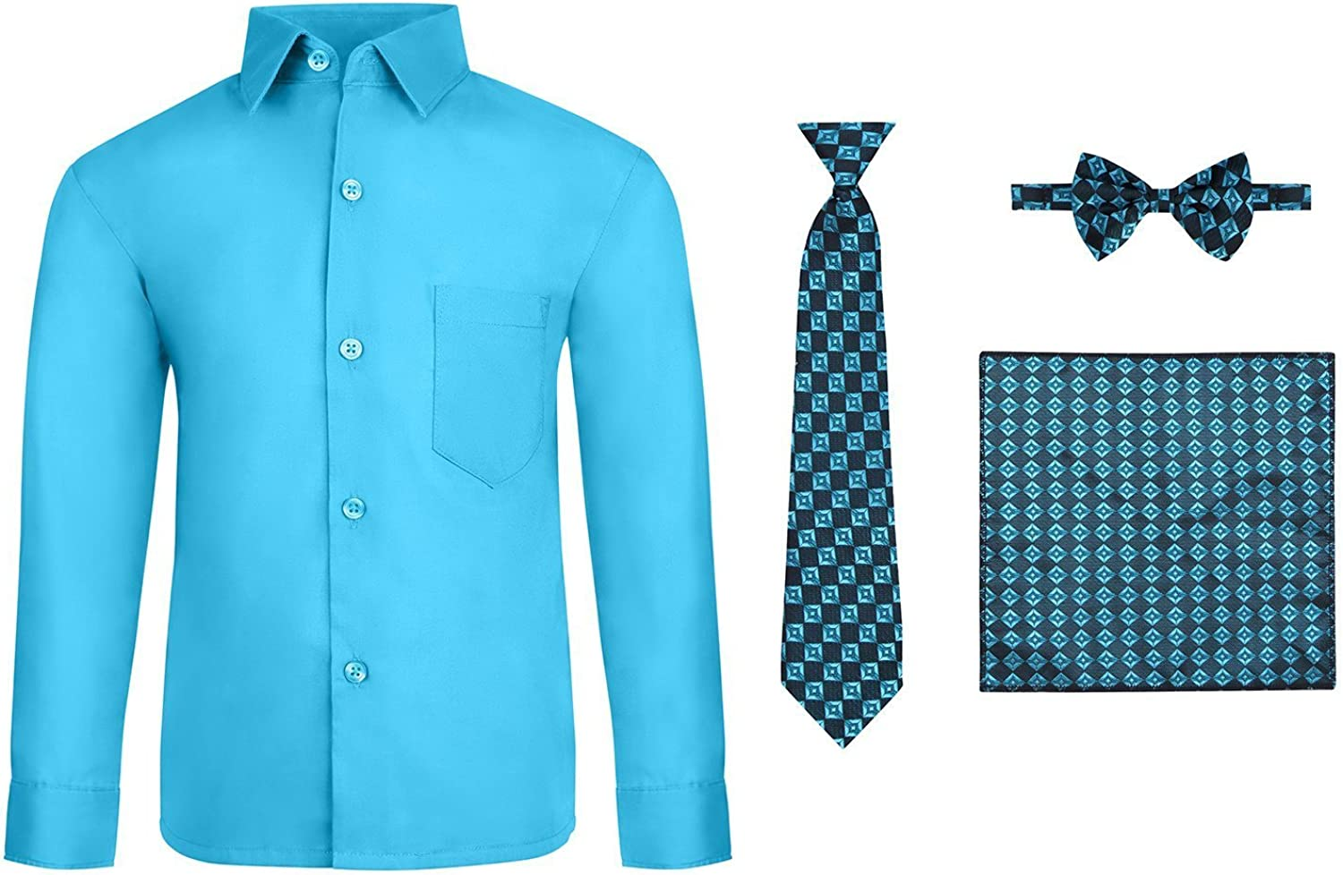 S.H. Churchill Co. Max 84% OFF Boy's 4 Piece Long Set with Tie Dress Max 53% OFF Shirt