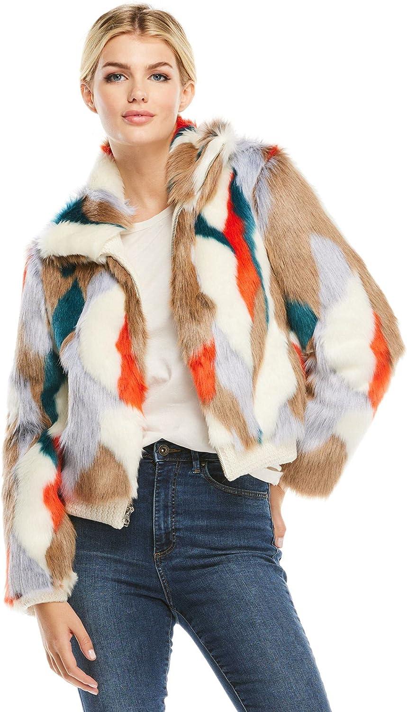 Apres Ski Faux Fur Bomber Jacket