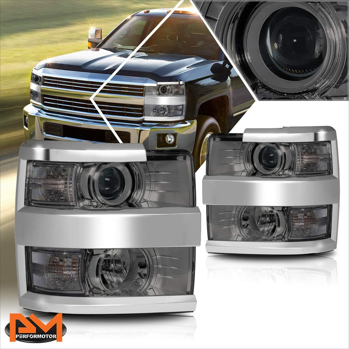 Smoked Housing Clear Sale SALE% OFF Corner Assembly Projector Compati Our shop most popular Headlight