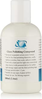 100ml Compuesto de pulido de vidrio, vidrio pulido solución, óxido cerio suspendido Gel–Fine Grade
