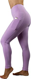 breathless High Waist Yoga Fitness Workout Running Leggings mit Tasche