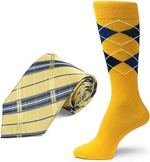 brand Men's Dress Socks &Necktie Set