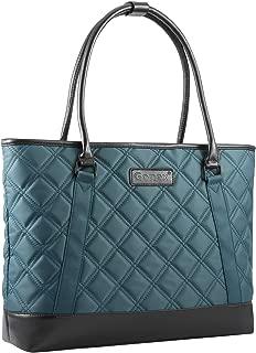 Women Laptop Tote Bag Gonex 15.6 Inch Lightweight Tablet Handbag Shoulder Bag Briefcase for Business Work Travel Blue