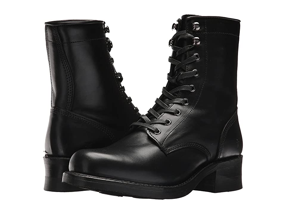 Frye Engineer Combat (Black) Women