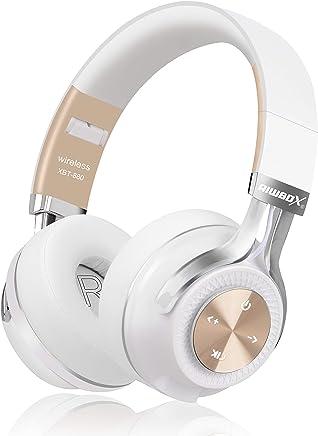 Bluetooth Headphones, Riwbox XBT-880 Wireless Bluetooth...