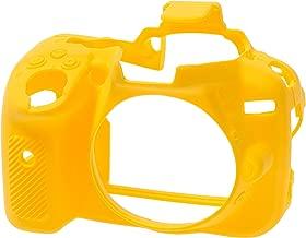 Easycover, Ecnd5300Y, Silikon Kılıf, Nikon D5300 Uyumlu, Siyah/Sarı/Kamuflaj