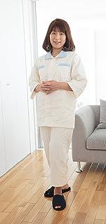 薄いパシーマ生地で作った快眠ぐっすりパジャマ新夏用 大人用・S(身長150~163㎝)男女共通