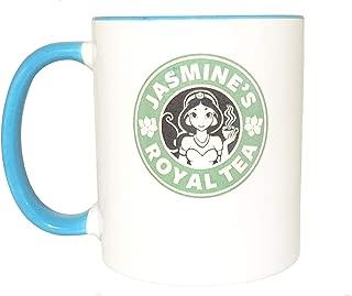 Jasmine's royal tea mug, princess, Funny mug, Cool mug, Novelty mug, Ceramic mug, White mug, Coffee, Coffe cup, printing mug, gift mug