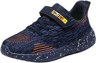 Scarpe Sportive Bambini e Ragazzi Scarpe da Corsa Ginnastica Respirabile Mesh Running Sneakers Fitness Casual Scarpe 28-37