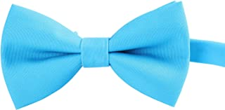 Mens and Boys Classic Bow Tie - Adjustable Formal Pre-tied Bowtie for Tuxedo Wedding