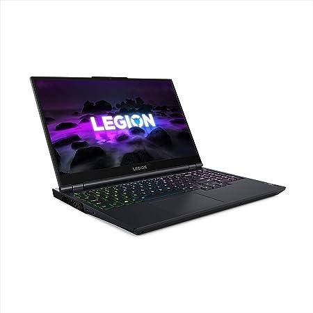 """Lenovo Legion 5 15 Gaming Laptop, 15.6"""" FHD (1920 x 1080) Display, AMD Ryzen 7 5800H Processor, 16GB DDR4 RAM, 512GB NVMe SSD, NVIDIA GeForce RTX 3050Ti, Windows 10H, 82JW0012US, Phantom Blue"""