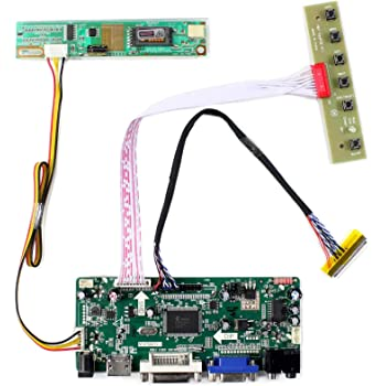 HDMI+DVI+VGA LCD led driver Controller Kit for CLAA089NA0BCW LED Panel 1024x600