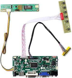 """HDMI + VGA + DVI + Tarjeta de control de entrada de audio LCD para LTN154AT07 LTN141AT02 14.1 """"15.4"""" 1280x800 1CCFL 30Pin ..."""