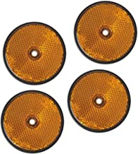 TFA 88202 Reflektor Orange 60 mm Rund zum Schrauben 2 St/ück