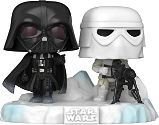 Funko Pop! Deluxe: Star Wars Battle at Echo Base Series - Figura de vinilo Darth Vader y Snowtrooper, exclusiva de Amazon, Figura 6 de 6