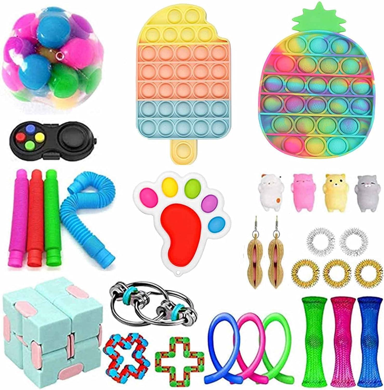 Mogomiten Sensory Fidget Popular overseas Toy Set Anti-Stress 25% OFF St