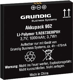 Akkupack 962 (GCM9620), Ersatzakku Für Digitale Diktiergeräte Der Digta 7 Serie