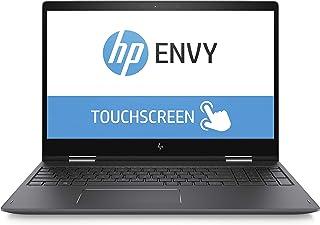 HP Envy 15-bp152wm X360 15.6″ Full HD Touchscreen Convertible Laptop, Intel Core i7-8550U Processor, 8GB SDRAM Memory, 16GB Intel Optane Memory, 1TB Hard Drive, Dark Ash Silver