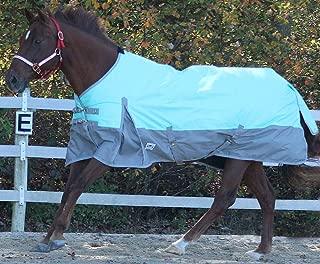 Chicks Saddlery Rugged Ride 1200 Denier Waterproof Turnout Sheet - with Grey Skirt
