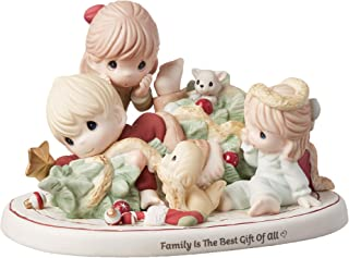 Precious Moments Limited Edition Family Chaos Christmas Tree 191011 Figurine, One Size, Multi