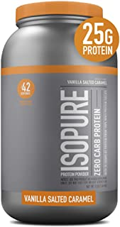 Isopure Chocolate Nutrition Facts