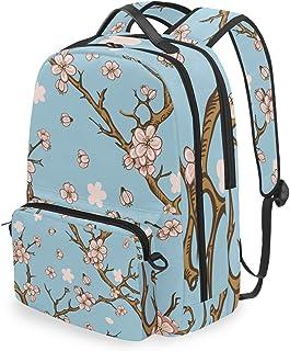 Mochila con bolsa cruzada desmontable, Cherry Sakura, mochila para ordenador, bolsa para viaje, senderismo, acampada