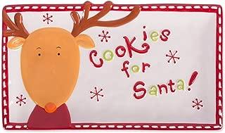 DII Ceramic, Reindeer Cookie Plate
