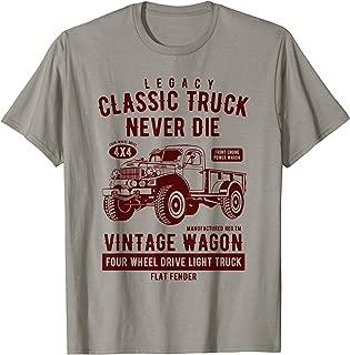 Legacy Classic Truck Vintage Wagon T Shirt