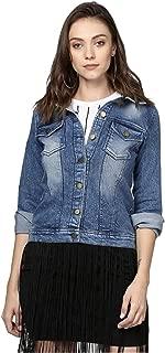 SIRI FASHION HUB Womens Comfort fit Denim Jacket