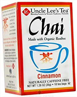 Uncle Lee'S Tea Tea Og1 Cinnamon Chai 18 Bag