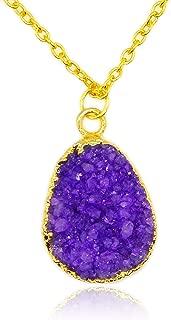Best purple pendant necklace Reviews