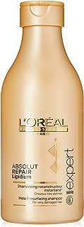LOreal Paris Series Expert Absolut Repair Lipidium Shampoo Professional for Unisex, 8.5Oz., 272.16g