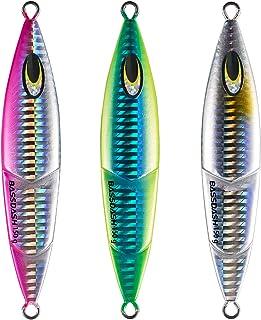 メタルジグ セット 40g 60g 80g 100g 150g 200g 250g スロージギング 3色 釣り ルアー シーバス釣り メタルジグセット