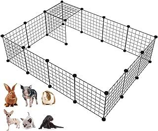 LANGXUN Organizador de los Cubos del Almacenamiento del Alambre de Metal | Productos para Mascotas Cerca de jardín de Alam...