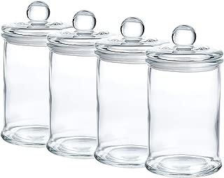 12 Ounce Glass Apothecary Jars D3.1