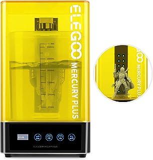 ELEGOO Mercury Plus 2 in 1 macchina per lavaggio e polimerizzazione per modelli LCD/DLP/SLA stampati in 3D Scatola di poli...