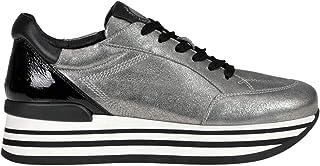 JANET SPORT Luxury Fashion Womens MCGLCAK000006075I Silver Sneakers | Season Outlet