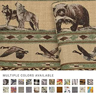 eLuxurySupply Fabric by The Yard - Polyester Blend Upholstery Sewing Fabrics - Cabin Fever Pattern