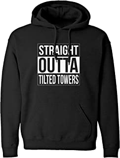 Indica Plateau Straight Outta Tilted Towers Unisex Adult Hoodie