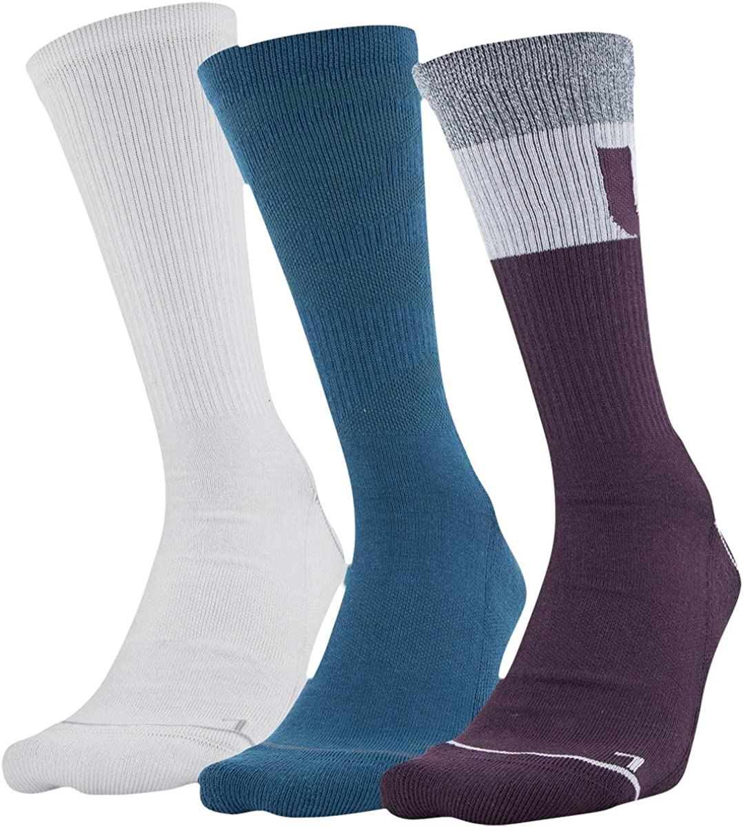 Under Cheap mail order shopping Armour Women's Phenom 3-pairs Socks NEW before selling ☆ Graphic Crew
