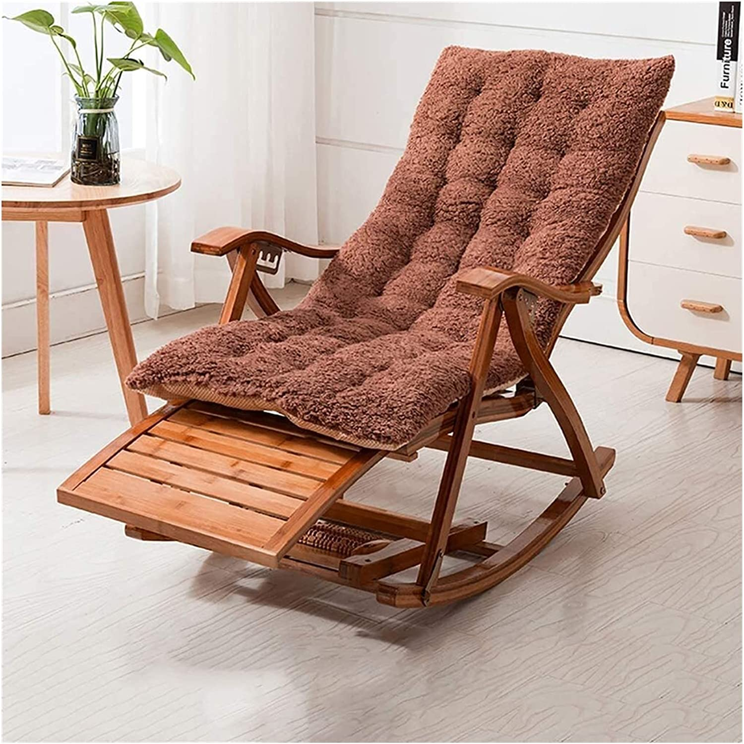 XUNMAIFLB Rocking Chair Outdoor Folding Multifunctional Online limited Max 88% OFF product Le