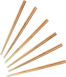 酒井産業 調理箸6膳組 キッチン用品 孟宗竹(炭化加工) 約長33cm 食卓 調理 料理 竹製 菜箸 先端を角型に加工 使いやすい 日本製