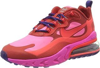 Women's W Air Max 270 React Running Shoe, Mystic Red/Bright Crimson-Pink Blast