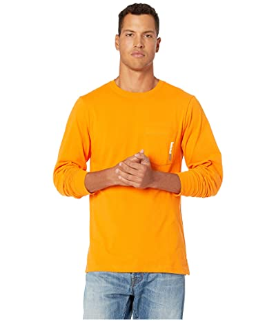 Timberland PRO Base Plate Blended Long Sleeve T-Shirt (Pro Orange) Men