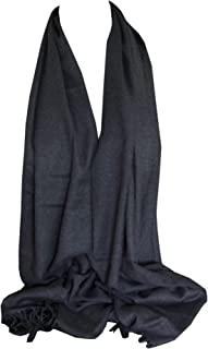 Bullahshah Hochwertige Kaschmir Pashmina Solide Farben Schal Schal Stola Wrap Kopf Schals