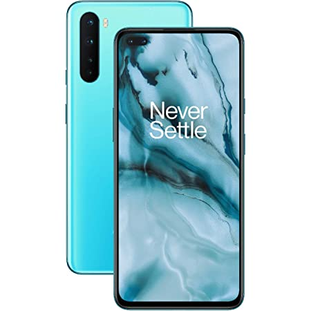 OnePlus NORD (5G) 8GB RAM 128GB SIM-Free Smartphone with Quad Camera, Dual SIM and 2 Years Warranty - Blue Marble