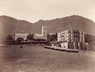 Hong Kong Cathedral 1890S Nthe English Cathedral St JohnS In Hong Kong Photograph 1890S Poster Print by (24 x 36)